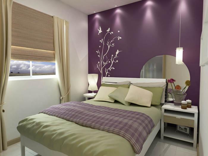 5 dicas para decorar aquela parede sem gra a blog papo diferente - Pintar facil paredes ...