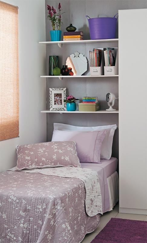 Dicas para decorar quartos pequenos Blog Papo Diferente ~ Quarto Sempre Organizado
