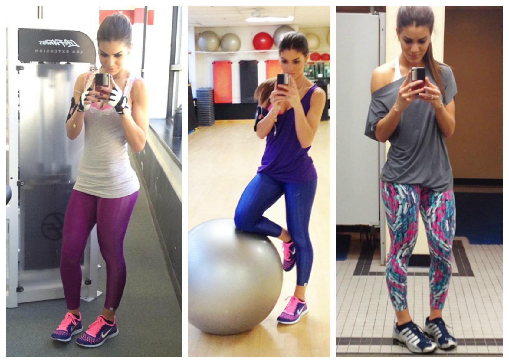 /estampada: A blogueira Camila Coelho sempre posta looks de academia ...