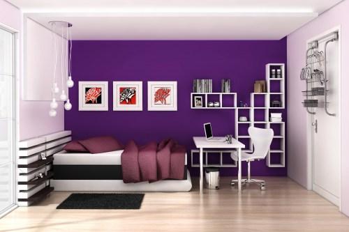 Para decorar uma parede colorida  Blog Papo Diferente