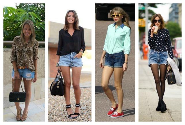 POST camisa e shorts